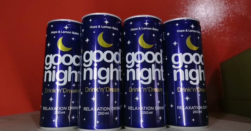 goood night drink n dream