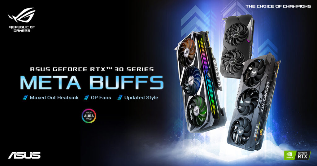 asus geforce rtx 30 series